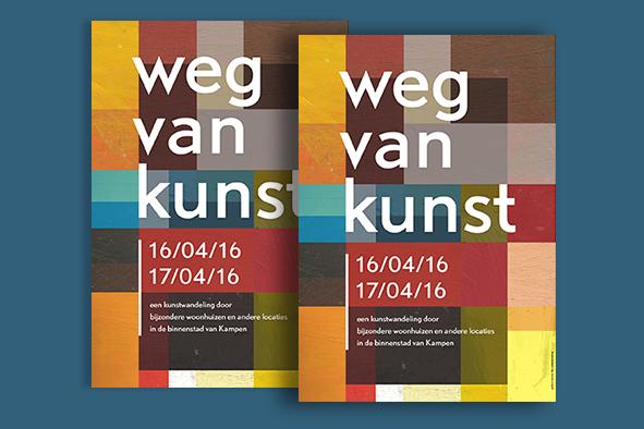 Poster Weg v K